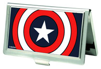 Image: Marvel Business Card Holder: Captain America Shield