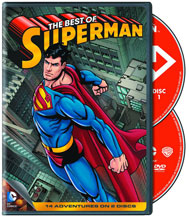Image: Best of Superman DVD