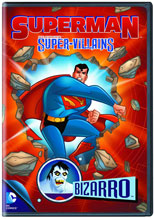 Image: Superman Super Villains: Bizarro DVD