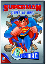 Image: Superman Super Villains: Brainiac DVD