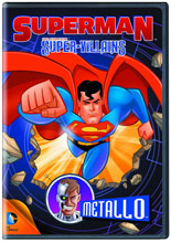 Image: Superman Super Villains: Metallo DVD