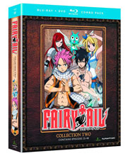 Image: Fairy Tail Collection 02 BluRay+DVD  - Anime