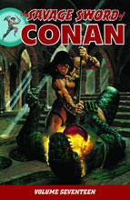 Image: Savage Sword of Conan Vol. 17 SC  - Dark Horse Comics