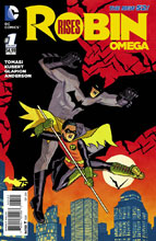 Image: Robin Rises: Omega #1 (variant incentive cover - Cliff Chiang) - DC Comics