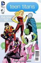 Image: Teen Titans #1 (variant incentive cover - Cliff Chiang) (25-copy) - DC Comics