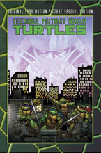 Image: Teenage Mutant Ninja Turtles Original Motion Picture Sp ed. HC  - IDW Publishing