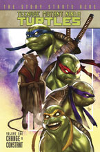 Image: Teenage Mutant Ninja Turtles Vol. 01: Change Is Constant SC  (new printing) - IDW Publishing