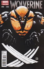 Image: Wolverine #10 (variant incentive cover - Stegman) (25-copy) - Marvel Comics