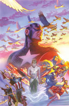 Image: Captain America #22 75th Anniversary by Alex Ross Poster  - Marvel Comics