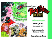 Image: Leonard Starr's Mary Perkins on Stage Vol. 13 SC  - Classic Comics Press