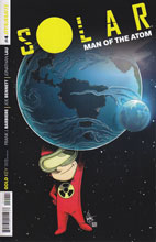 Image: Solar: Man of the Atom #4 (variant incentive cover - Haeser Lil Solar) (75-copy) - Dynamite
