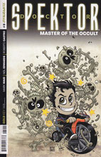 Image: Doctor Spektor: Master of the Occult #3 (Haeser Li'l Spektor variant incentive cover - 03041) - Dynamite
