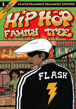 Image: Hip Hop Family Tree Vol. 01 GN  (new printing) - Fantagraphics Books