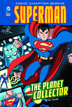 Image: Superman Comic Chapter Book: The Planet Collector SC  - Capstone Press