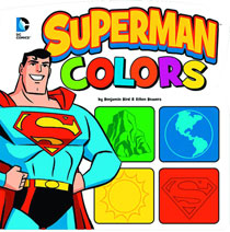 Image: DC Board Book: Superman Colors  (small) (young readers) - Capstone Press