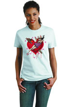 Image: Harley Quinn: Heartbreak Youth T-Shirt  (L) -