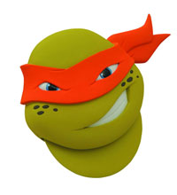Image: Teenage Mutant Ninja Turtles: Michelangelo Pizza Cutter  -