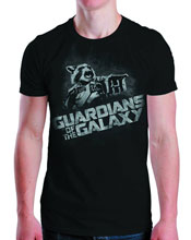 Image: Guardians of the Galaxy: Rocket to the Rescue T-Shirt [Black]  (M) -
