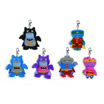 Image: Uglydoll DC Comics Plush Clip-On Assortment  -