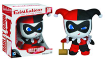 Image: Fabrikations Soft Sculpture Plush Figure 06: Harley Quinn  -