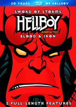 Image: Hellboy Animated: Sword of Storms / Blood & Iron Blu-ray  -