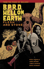 Image: B.P.R.D. Hell on Earth Vol. 11: Flesh and Stone SC  - Dark Horse Comics