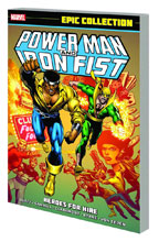 Image: Power Man & Iron Fist Epic Collection: Heroes for Hire SC  - Marvel Comics