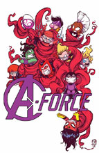 Image: A-Force #1 by Young Poster  - Marvel Comics