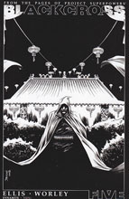 Image: Project Superpowers: Blackcross #5 (Shalvey b&w incentive cover - 05061) (25-copy) - Dynamite
