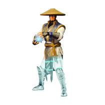 Image: Mortal Kombat X Raiden Displacer Variant PX 6-inch Action Figure  -