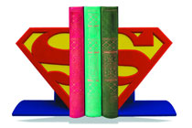 Image: DC Logo Bookends: Superman  -