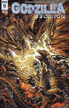 Image: Godzilla: Oblivion #5 (variant incentive cover - Dave Wachter) (10-copy) - IDW Publishing
