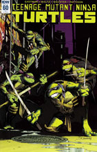 Image: Teenage Mutant Ninja Turtles #60 (variant incentive cover - Damian Couceiro) (10-copy) - IDW Publishing