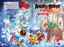 Image: Angry Birds Comics Vol. 04: Fly Off the Handle HC  - IDW Publishing