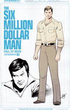 Image: Six Million Dollar Man: Fall of Man #1 (cover B variant incentive) (10-copy) - Dynamite