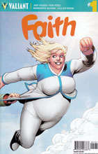 Image: Faith [2016] #1 (Perez variant incentive - 00181) (10-copy) - Valiant Entertainment LLC