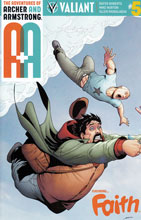 Image: A&A: The Adventures of Archer & Armstrong #5 (Perez variant incentive - 00561) (10-copy) - Valiant Entertainment LLC