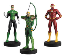 Image: DC Comics Justice League Eaglemoss Masterpiece Collection: Green Arrow, The Flash & Green Lantern #6 - Eaglemoss Publications Ltd
