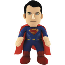 Image: Batman v Superman Plush: Superman  (10-inch) - Bleacher Creatures