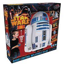Image: Star Wars Inflatable R/C: R2-D2  - Schylling Associates Inc