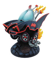 Image: Batman Classic TV Series Batmobile Statue  - Cryptozoic Entertainment