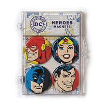 Image: DC Comics Magnets Set: Heroes  - Crowded Coop, LLC