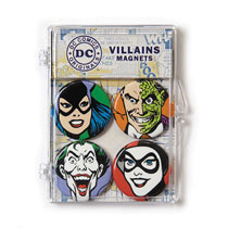 Image: DC Comics Magnets Set: Villains  - Crowded Coop, LLC