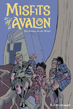 Image: Misfits of Avalon Vol. 03: Future in Wind SC  - Dark Horse Comics