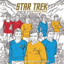 Image: Star Trek Original Series Adult Coloring Book Vol. 02 SC  - Dark Horse Comics