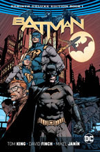 Image: Batman Rebirth Deluxe Collectible Book 01 HC  - DC Comics