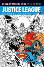 Image: Justice League: An Adult Coloring Book SC  - DC Comics