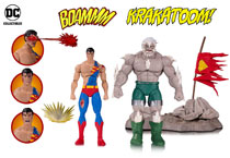 Image: DC Icons Deluxe Action Figure: Death of Superman 2 Pack - Doomsday / Superman  - DC Comics