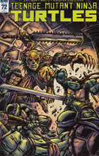 Image: Teenage Mutant Ninja Turtles #72 (incentive cover - Kevin Eastman) (10-copy) - IDW Publishing