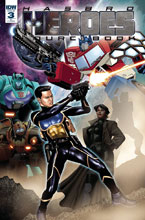 Image: Hasbro Heroes Sourcebook #3 (cover A - Ossio) - IDW Publishing